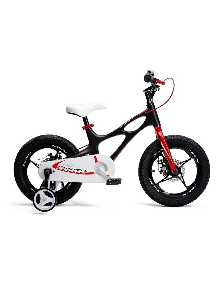 Space Shuttle Magnesium Alloy Kids Bike for Boys and Girls 14 16 18 Inch, Black image 1