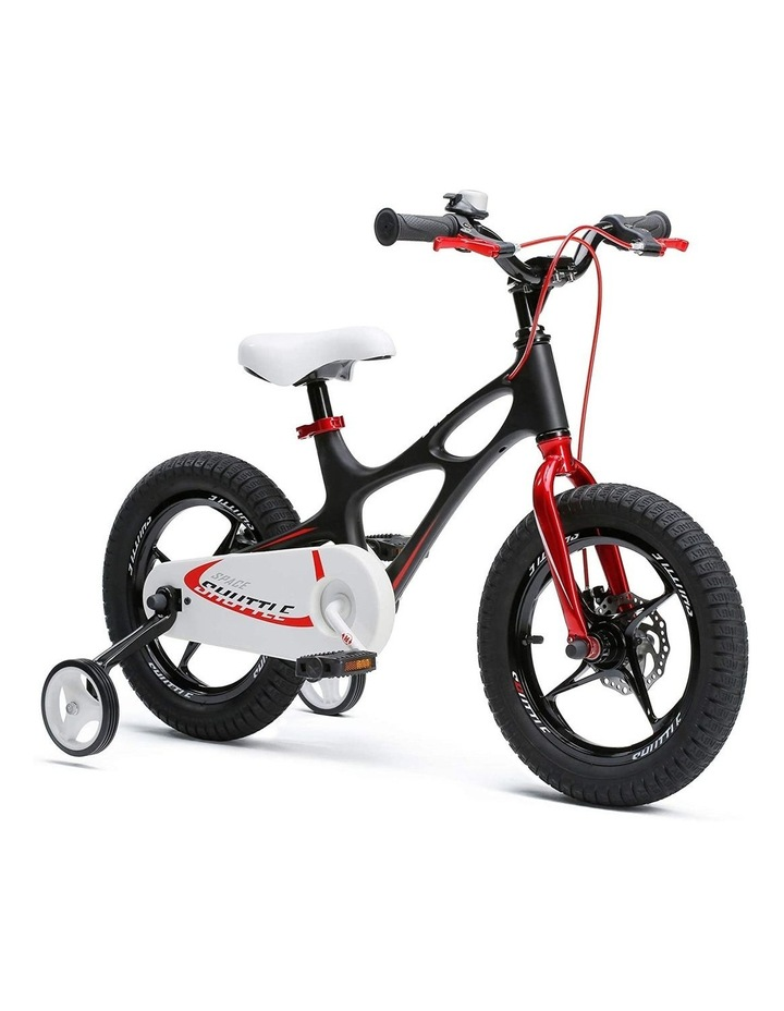 Space Shuttle Magnesium Alloy Kids Bike for Boys and Girls 14 16 18 Inch, Black image 2