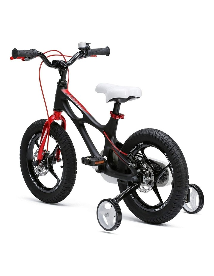 Space Shuttle Magnesium Alloy Kids Bike for Boys and Girls 14 16 18 Inch, Black image 3