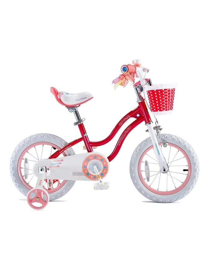 Stargirl Girls Kids Bike 12 14 16 18 Inch, Pink and White Color image 1