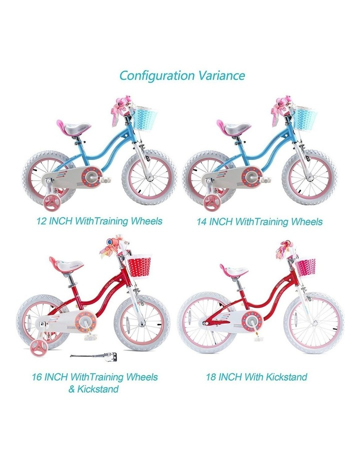 Stargirl Girls Kids Bike 12 14 16 18 Inch, Pink and White Color image 3