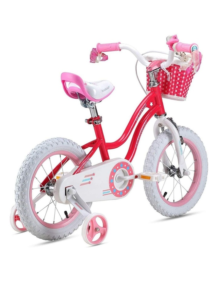Stargirl Girls Kids Bike 12 14 16 18 Inch, Pink and White Color image 4