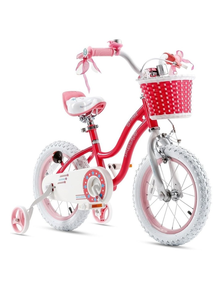 Stargirl Girls Kids Bike 12 14 16 18 Inch, Pink and White Color image 7