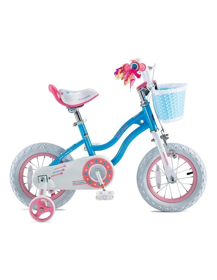 Stargirl Girls Kids Bike 12 14 16 18 Inch, Blue White Color image 1