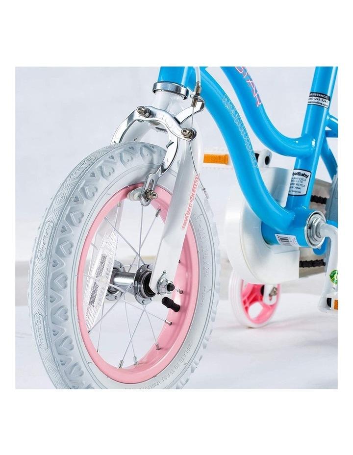 Stargirl Girls Kids Bike 12 14 16 18 Inch, Blue White Color image 4