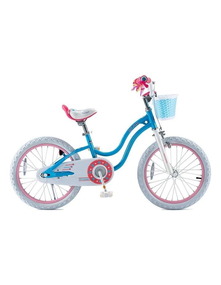 Stargirl Girls Kids Bike 12 14 16 18 Inch, Blue White Color image 6
