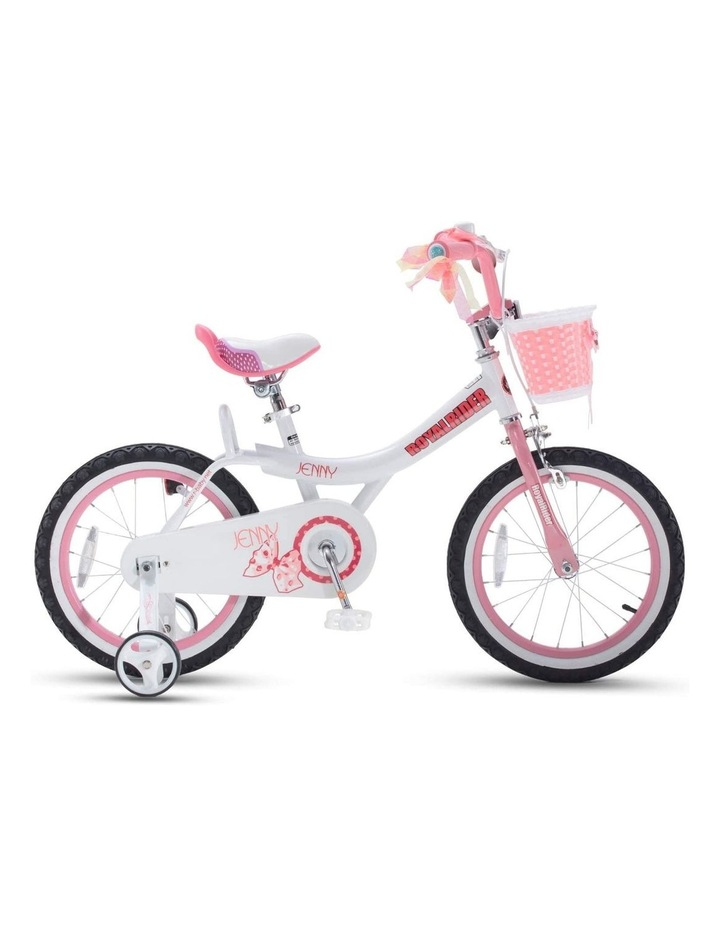 Jenny Princess Girls Kids Bike 12 14 16 18 20 Inch, Pink and White Color image 1