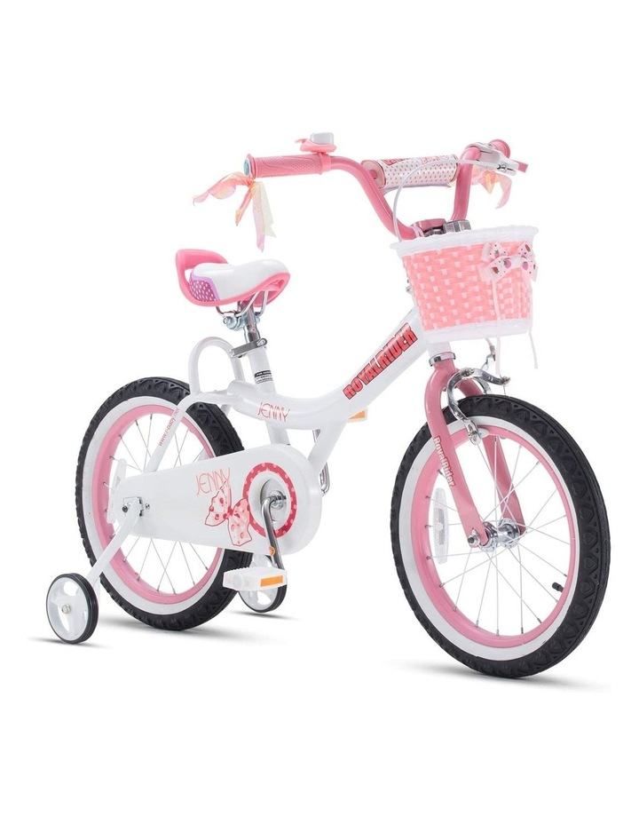 Jenny Princess Girls Kids Bike 12 14 16 18 20 Inch, Pink and White Color image 2