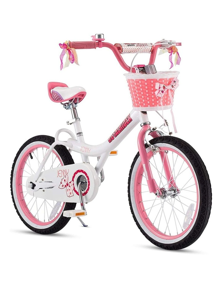 Jenny Princess Girls Kids Bike 12 14 16 18 20 Inch, Pink and White Color image 4