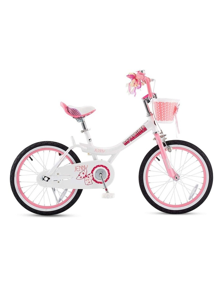 Jenny Princess Girls Kids Bike 12 14 16 18 20 Inch, Pink and White Color image 5
