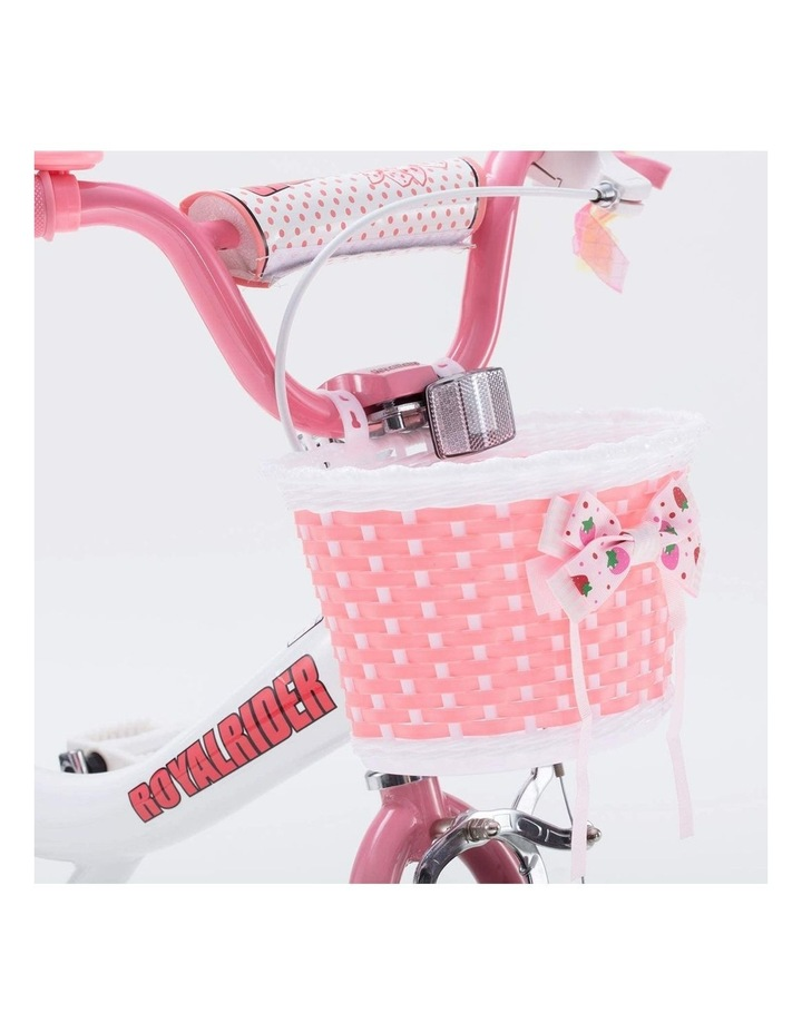 Jenny Princess Girls Kids Bike 12 14 16 18 20 Inch, Pink and White Color image 7