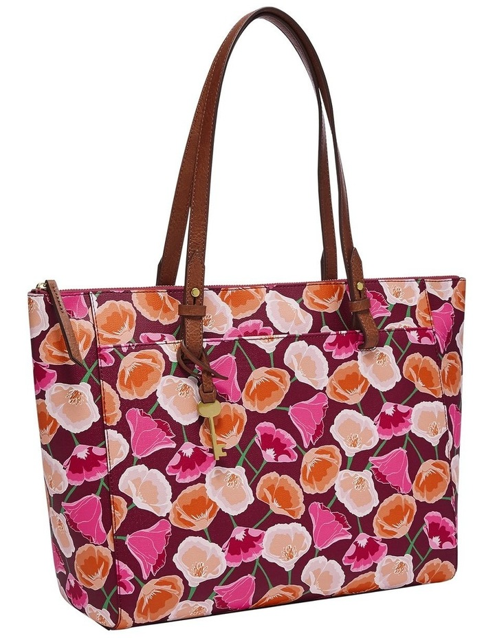 Fossil ZB7446664 Pink Rachel TOTE BAG image 1