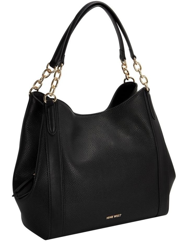 NGV115723BLA Channa Black  Hobo Bag image 3