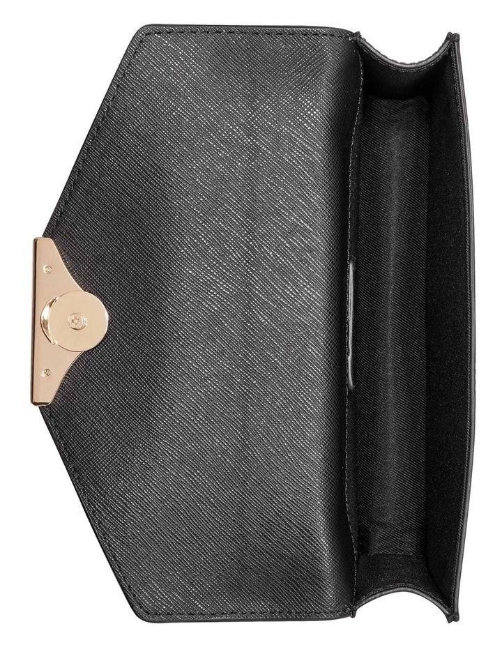NGS118578BLA Paisley Black Flapover Crossbody Bag image 4