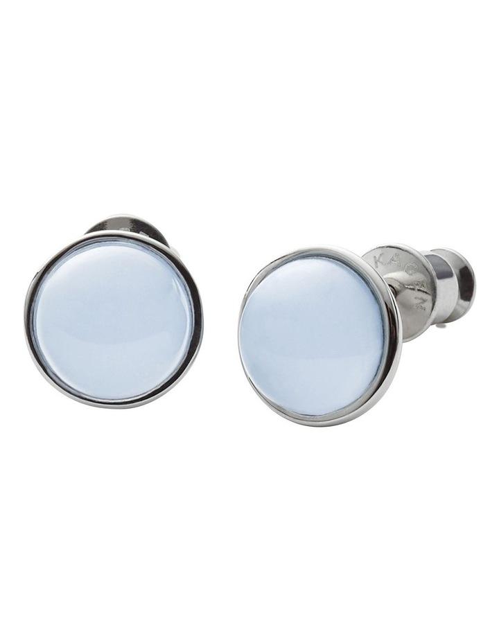 Sea Glass Silver  Earrings image 1