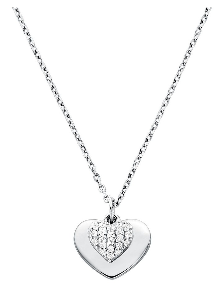 MKC1120AN040 Premium Silver Necklace image 1