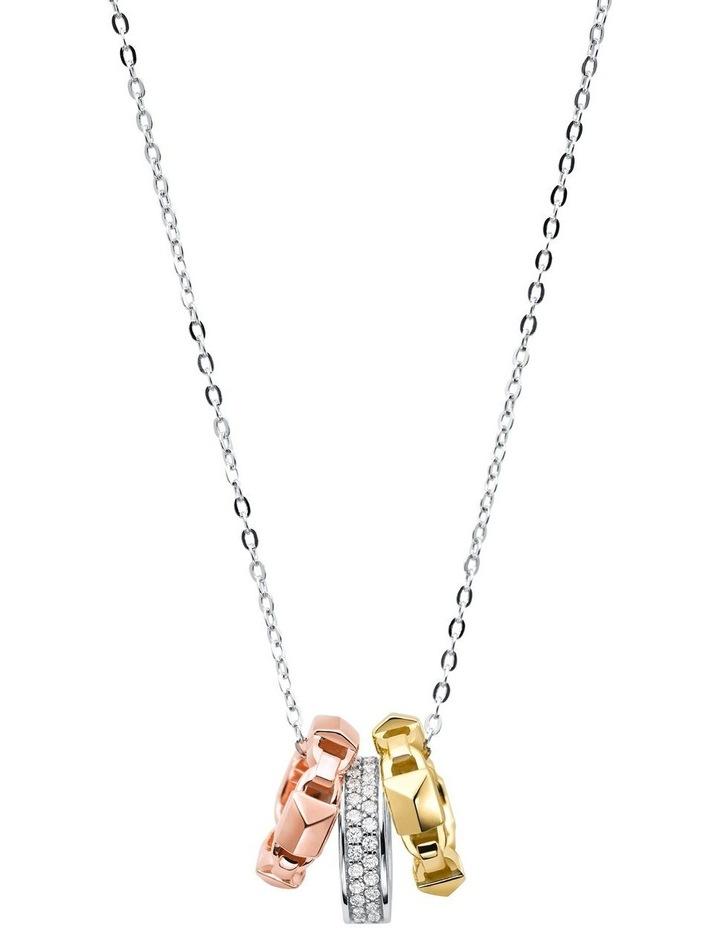 Premium Tri-tone Necklace image 1