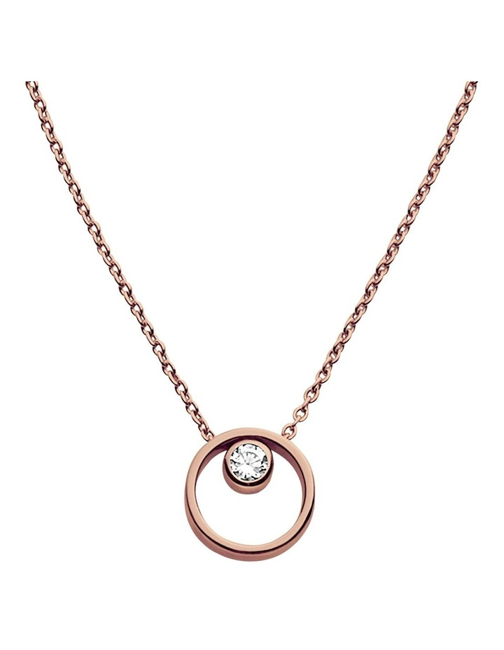 Elin Rose Gold Necklace image 1