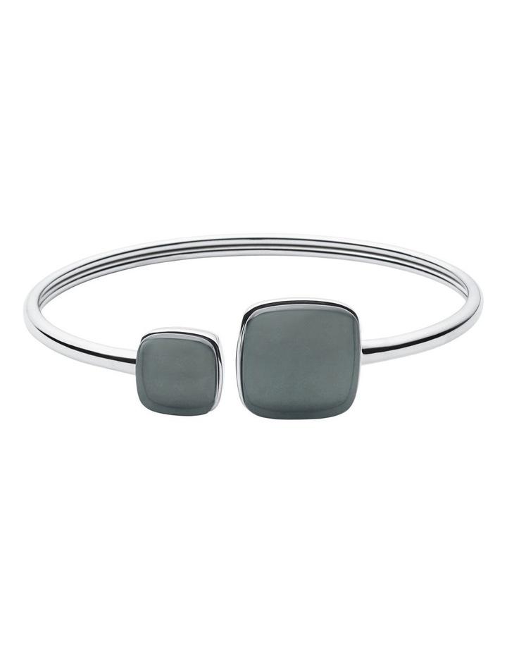 Sea Glass Silver Bracelets image 1