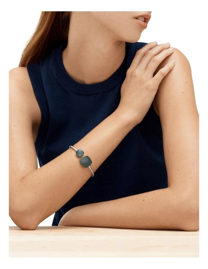 Sea Glass Silver Bracelets image 2