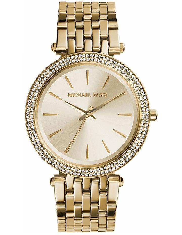 Darci Gold Plated Steel Luxury Watch MK3191 image 2