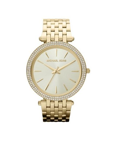 Darci Gold Plated Steel Luxury Watch MK3191 image 1