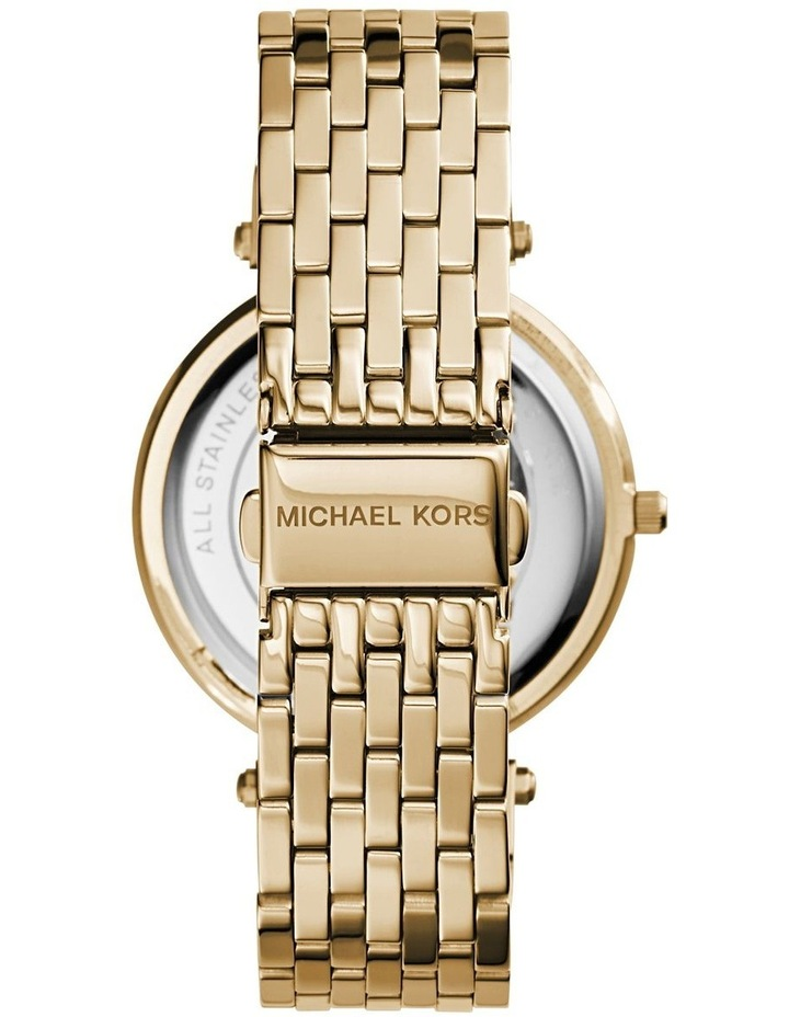 Darci Gold Plated Steel Luxury Watch MK3191 image 3