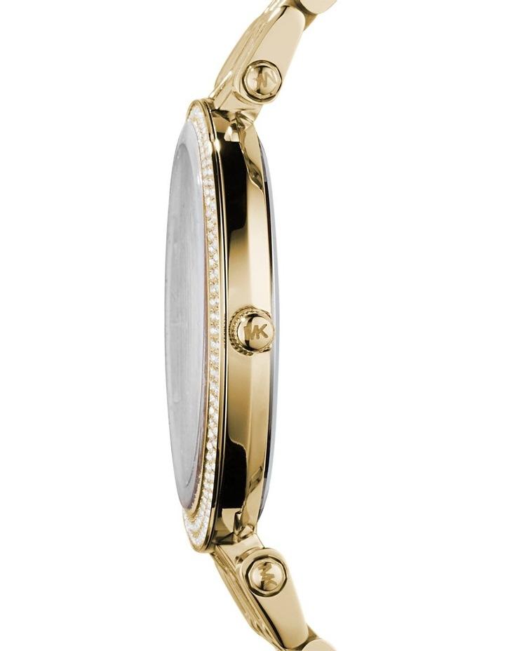 Darci Gold Plated Steel Luxury Watch MK3191 image 4