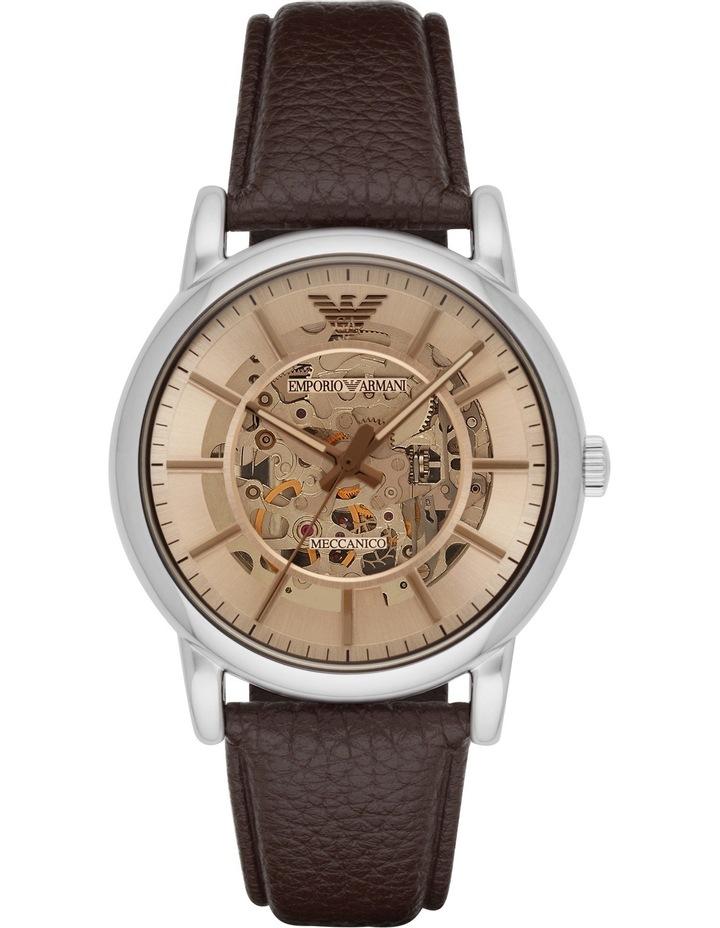 AR1982 Transparent Watch in Dark Brown image 1