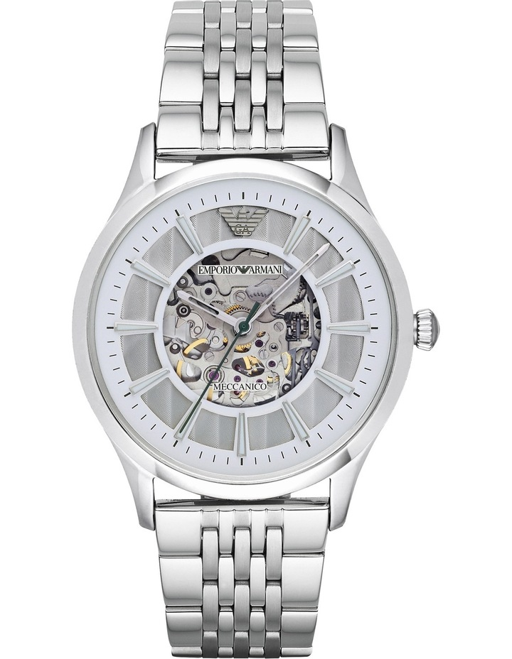 AR1945 Transparent Watch in Silver image 1