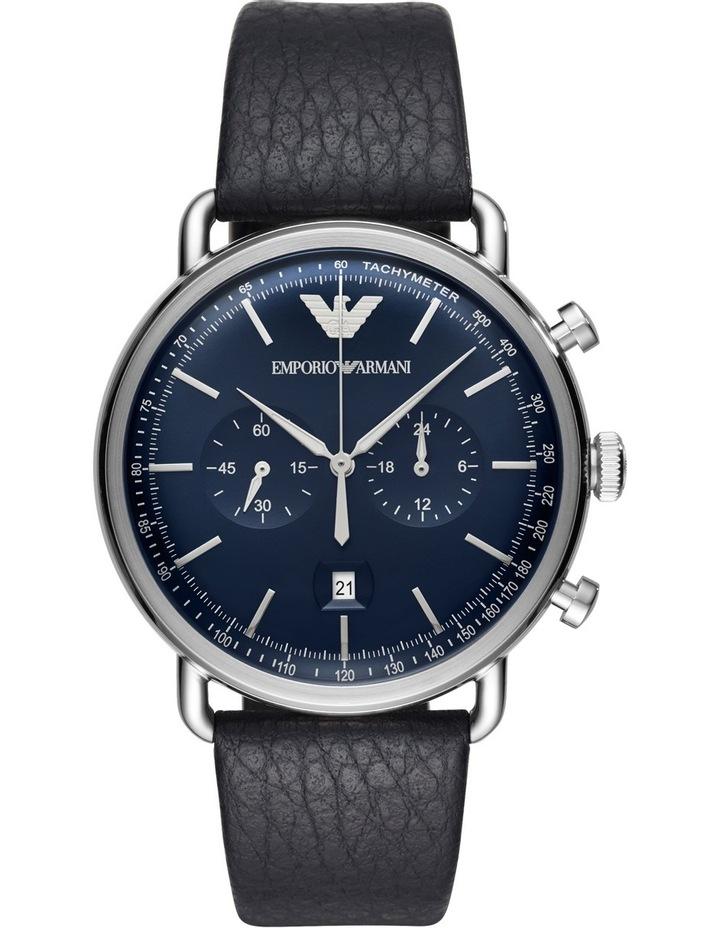 Aviator Blue Watch AR11105 image 1