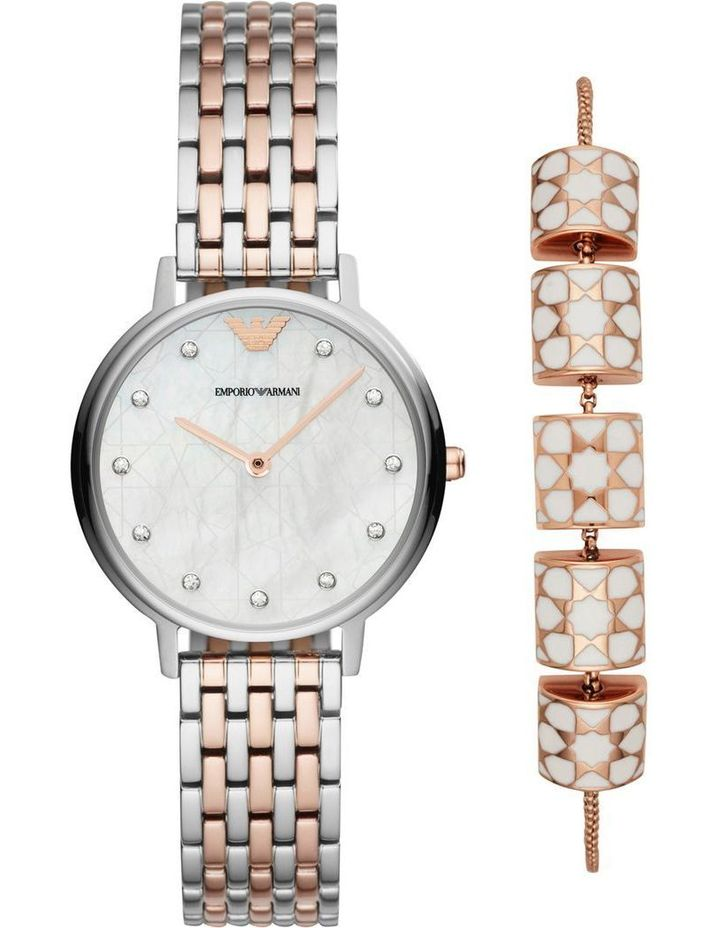 9f748780320ac Emporio Armani | Kappa Rose Gold Watch AR80016 | MYER