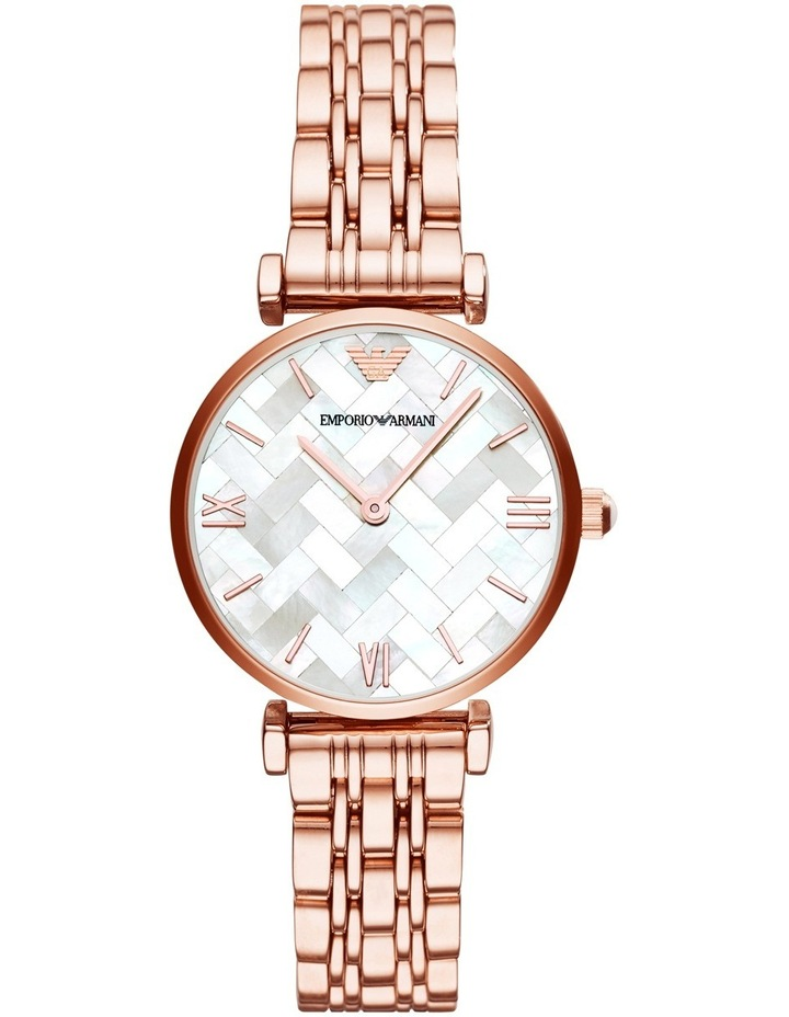 Gianni T-Bar Rose Gold Watch AR11110 image 1