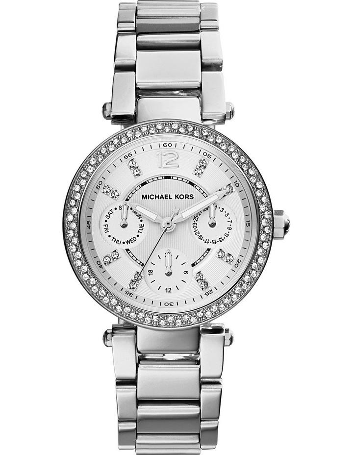 Glitz Parker Mini Silver Watch MK5615 image 1