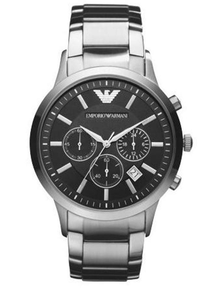 Silver Analogue Watch image 2