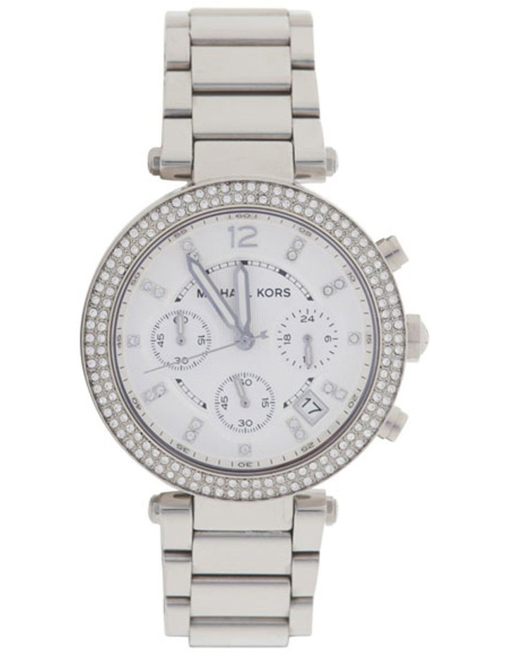 Parker Silver Stainless Steel Chronograph Watch MK5353 image 1