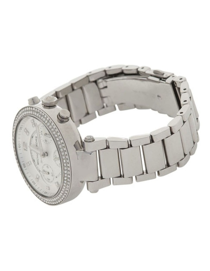 Parker Silver Stainless Steel Chronograph Watch MK5353 image 3