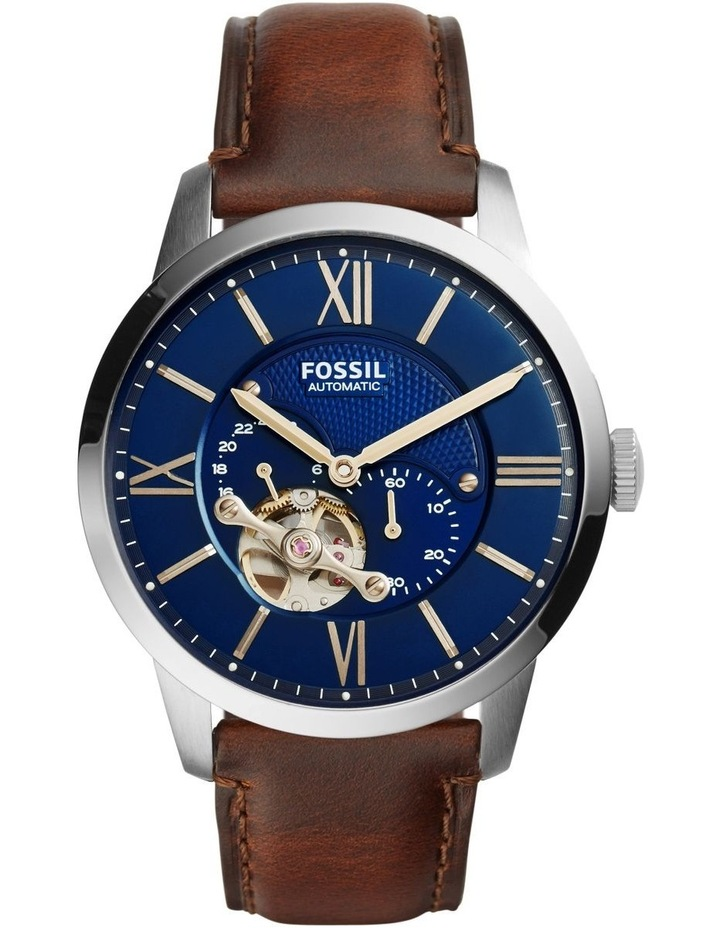 Townsman Brown Leather Watch ME3110 image 1