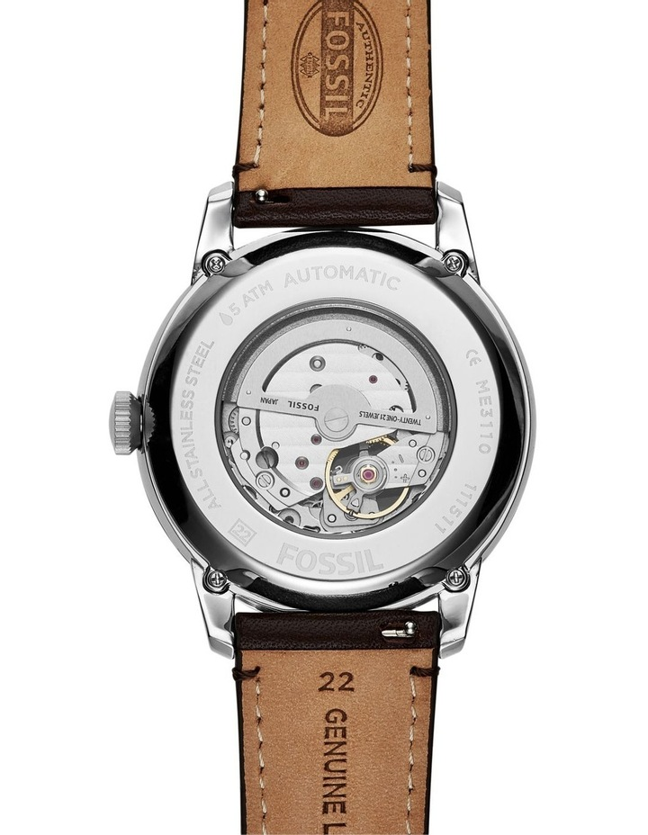 Townsman Brown Leather Watch ME3110 image 2