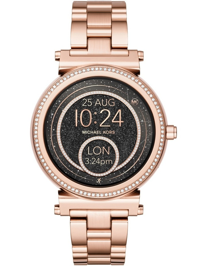 8dc301a6220d MKT5022 Sofie Rose Gold Smartwatch image 1