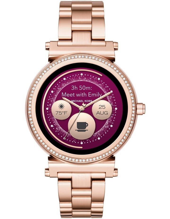 Michael Kors Wearables | MKT5022 Sofie Rose Gold Smartwatch