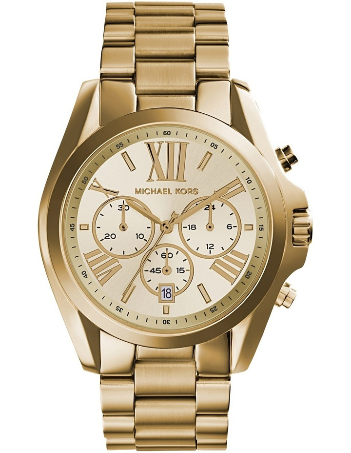 Bradshaw Gold Tone Watch MK5605 image 1