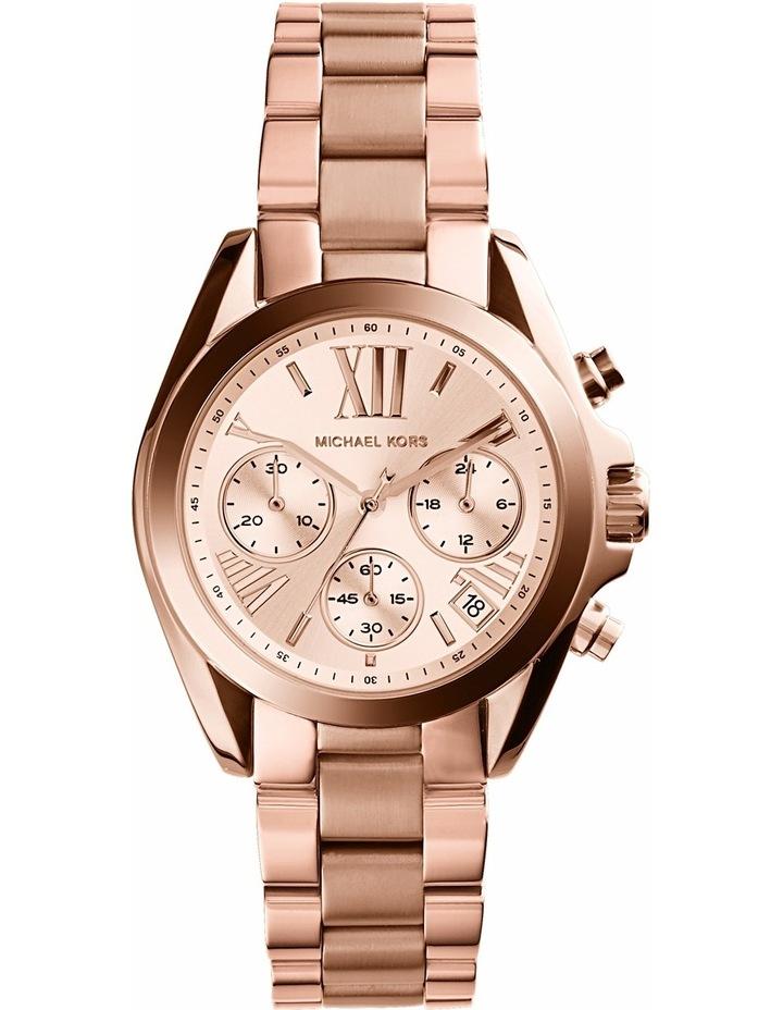 Bradshaw Rose Gold Watch MK5799 image 1
