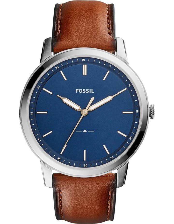 The Minimalist 3H Brown Watch FS5304 image 1