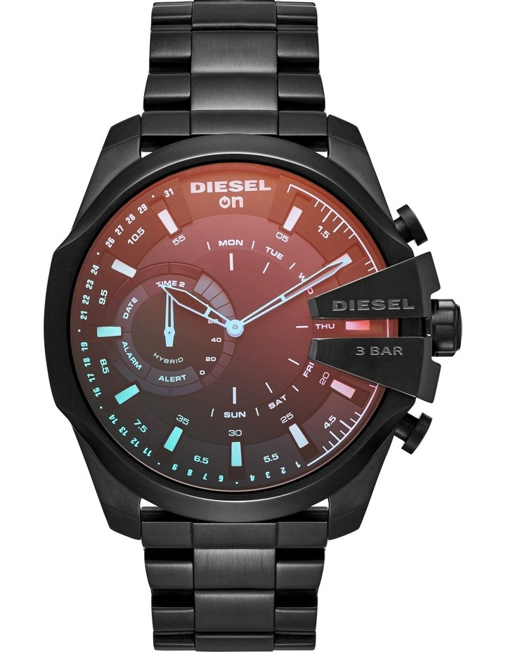 Mega Chief Black Hybrid Smartwatch DZT1011 image 1