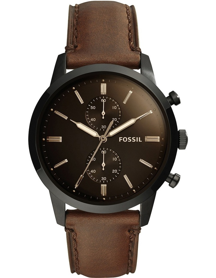 44Mm Townsman Brown Watch FS5437 image 1