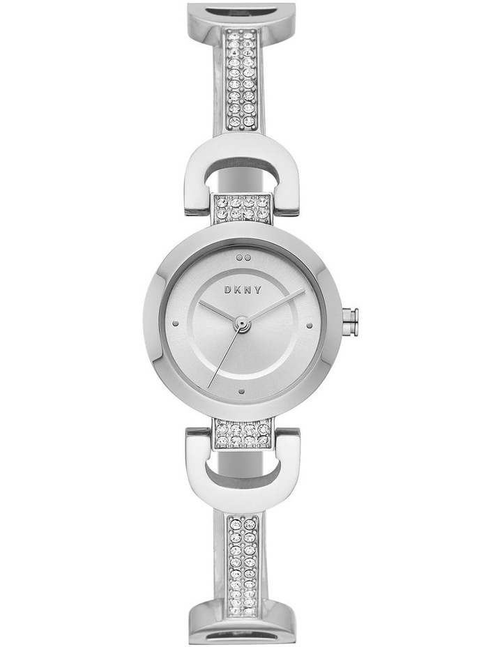 NY2751 City Link Silver Watch image 1