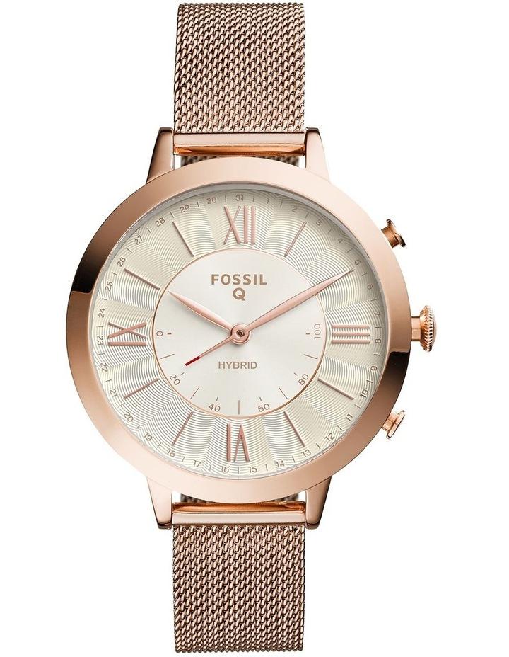 FTW5018 Q Jacqueline Rose Gold Smartwatch image 1