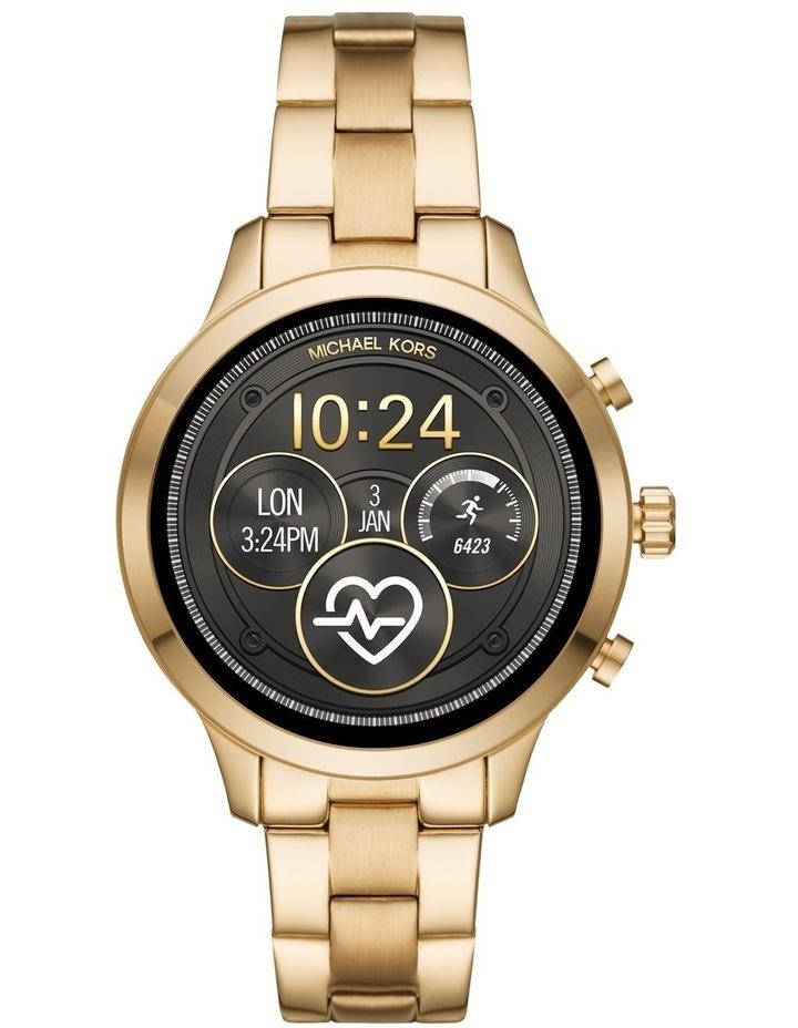 MKT5045 Runway Gold Smartwatch image 1