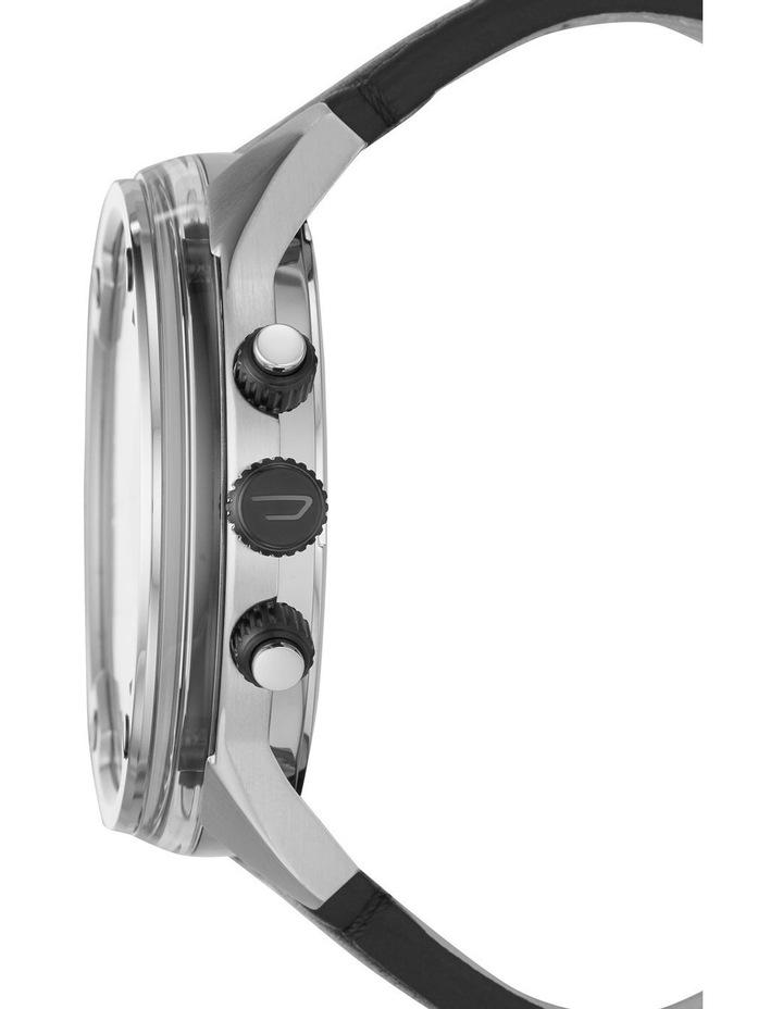Boltdown Men Black Leather Watch DZ7415 image 2